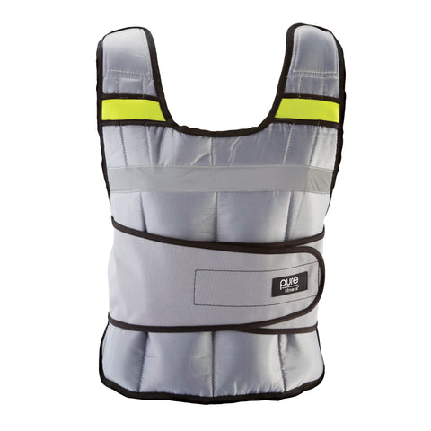 Pure Fitness 20lb Adjustable Weighted Vest - Pure Fun