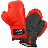 Kids Boxing Gloves, Youth, Red - Pure Fun