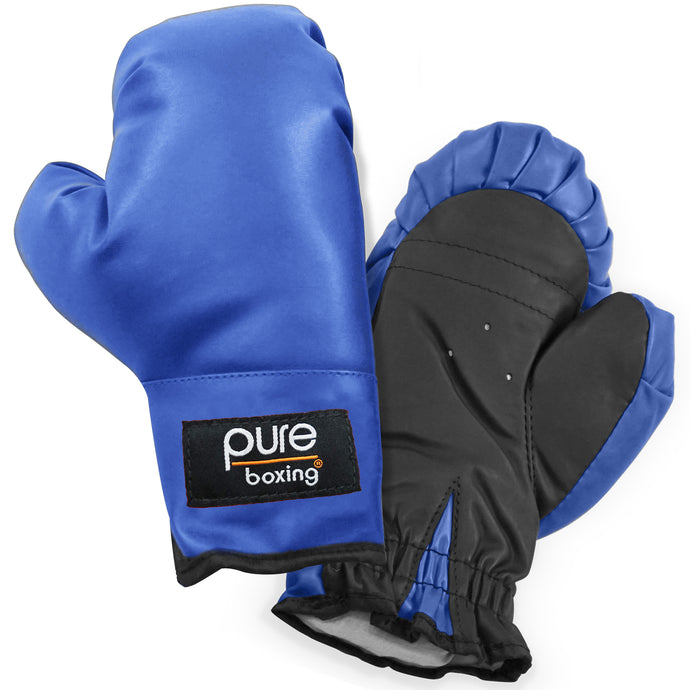 Pure Boxing Youth Kids Boxing Gloves - Blue - Pure Fun