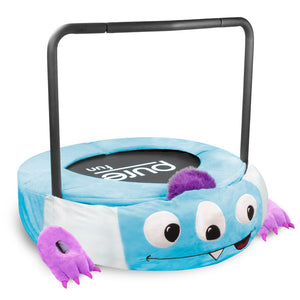 Pure Fun 36-inch Monster Plush Jumper Kids Trampoline with Handrail - Pure Fun