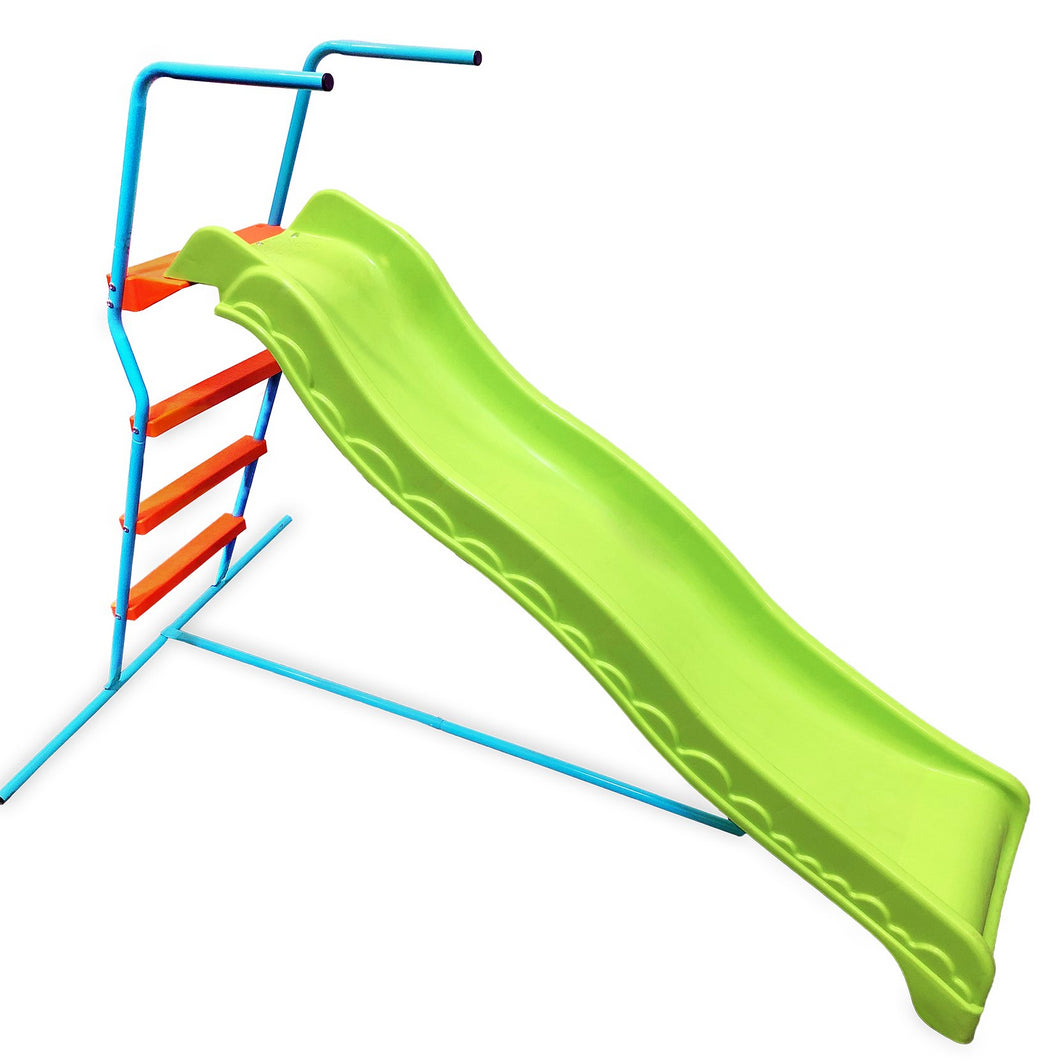 Pure Fun 6-Foot Wavy Kids Slide, Indoor or Outdoor - Pure Fun