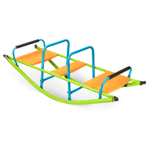 Pure Fun Kids Dual Rocker Seesaw, Indoor or Outdoor - Pure Fun