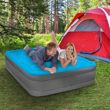 Load image into Gallery viewer, Air Comfort Camp Mate Queen Size Raised Air Mattress - Pure Fun
