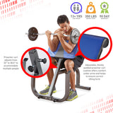 Pure Fitness Preacher Curl Weight Bench - Pure Fun