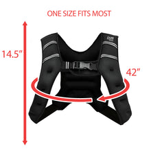 Load image into Gallery viewer, Pure Fitness Adjustable Weighted Vest, 10-pound