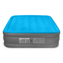 Load image into Gallery viewer, Air Comfort Camp Mate Raised Air Mattress with External Battery Pump - Queen - Pure Fun