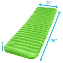 Load image into Gallery viewer, Air Comfort Roll and Go Lightweight Puncture Resistant Sleeping Pad - Large - Pure Fun
