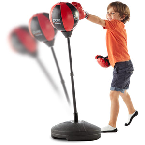 Pure Boxing Punch and Play Boxing Set for Kids - Red, ages 3 to 7 - Pure Fun