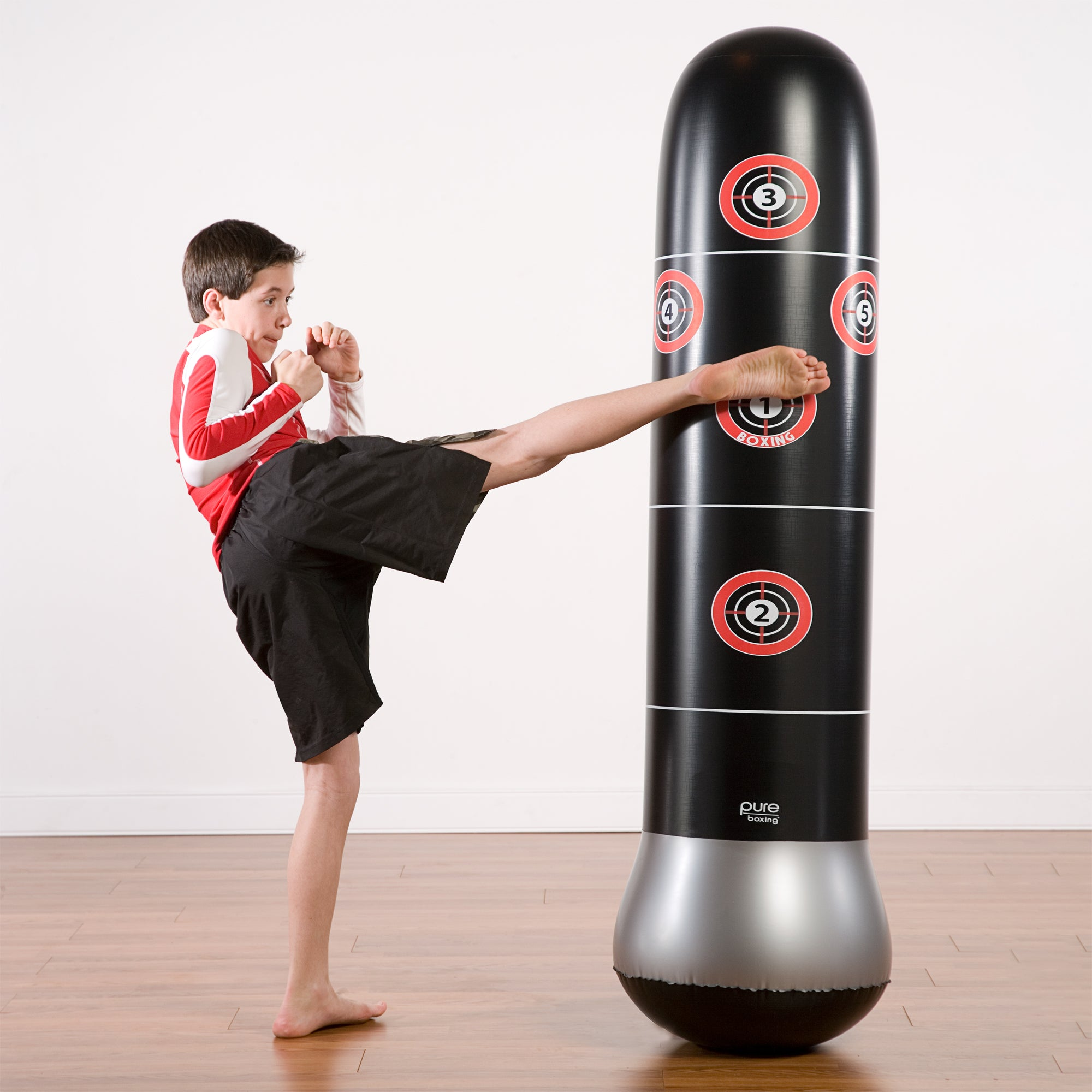 Pure Boxing MMA Target Bag Inflatable Punching Bag, 63-inch