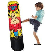 Load image into Gallery viewer, Pure Boxing Bully Bag 56-Inch Inflatable Punching Bag with Interchangeable Faces - Pure Fun