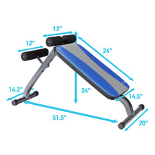 Load image into Gallery viewer, Pure Fitness Weight Bench, Ab Crunch Sit Up Bench - Pure Fun