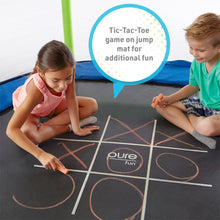 Load image into Gallery viewer, Pure Fun Jump and Play 7-Foot Trampoline Set, Indoor or Outdoor - Pure Fun