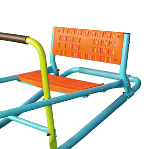 Pure Fun Dual Rocker Kids Seesaw, Indoor or Outdoor