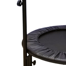 Load image into Gallery viewer, Pure Fun 40-inch Bungee Exercise Trampoline with Adjustable Handrail