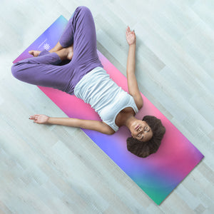 Life Energy Hatha 6mm Reversible Double Sided Yoga Mat, 6mm - Pure Fun