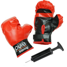 Load image into Gallery viewer, Pure Boxing Punch and Play Boxing Set for Kids - Red, ages 3 to 7