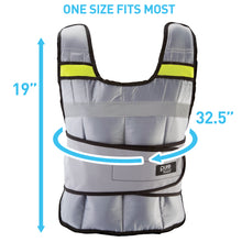 Load image into Gallery viewer, Pure Fitness Adjustable Weighted Vest, 20-pound - Pure Fun