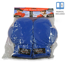 Load image into Gallery viewer, Pure Boxing Youth Kids Boxing Gloves - Blue - Pure Fun