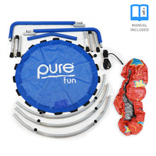 Load image into Gallery viewer, Pure Fun 36-inch Kids Bungee Trampoline with Handrail - Pure Fun