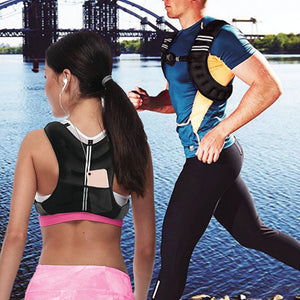 Pure Fitness Adjustable Weighted Vest, 10-pound