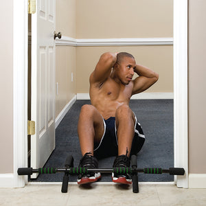 Pure Fitness Adjustable Multi-Purpose Doorway Pull-Up Bar - Pure Fun