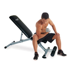 Load image into Gallery viewer, Pure Fitness Pro Adjustable FID Weight Bench, 330lb Weight Capacity