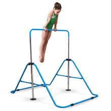 Load image into Gallery viewer, Pure Fun Expandable Gymnastics Bar Junior Training - Blue