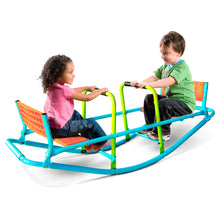 Load image into Gallery viewer, Pure Fun Dual Rocker Kids Seesaw, Indoor or Outdoor