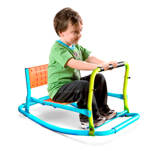Pure Fun Single Rocker Kids Seesaw, Indoor or Outdoor - Pure Fun