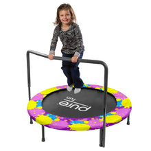 Load image into Gallery viewer, Pure Fun 48-inch Super Jumper Kids Trampoline with Handrail - Paint - Pure Fun