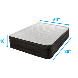 Air Comfort Deep Sleep Queen Raised Air Mattress with Built In Pump - Pure Fun