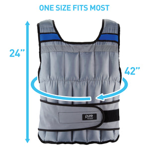 Adjustable Weighted Vest, 40-pound - Pure Fun