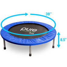 Load image into Gallery viewer, Pure Fun 38-inch Exercise Trampoline, Rebounder - Pure Fun
