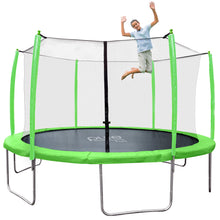 Load image into Gallery viewer, Pure Fun Supa-Bounce 14-Foot Trampoline with Safety Enclosure