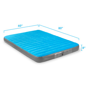 Air Comfort Camp Mate Air Mattress with External Battery Pump - Queen - Pure Fun