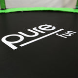 Pure Fun Dura-Bounce 8ft Trampoline with Enclosure - Pure Fun