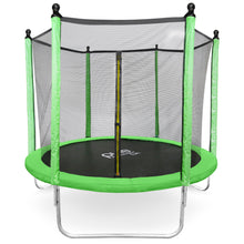 Load image into Gallery viewer, Pure Fun Dura-Bounce 8-Foot Trampoline with Safety Enclosure - Pure Fun