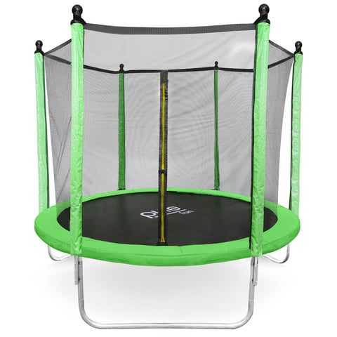 Pure Fun Dura-Bounce 8-Foot Trampoline with Enclosure - Pure Fun