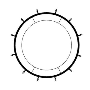 REPLACEMENT PARTS for Pure Fun DuraBounce 15-Foot Trampoline (9315T) - Pure Fun