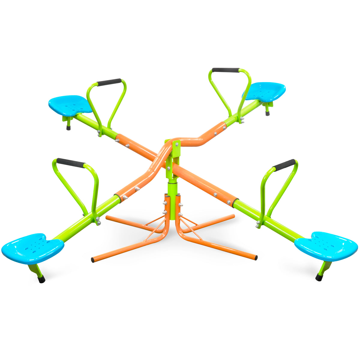 Indoor & Outdoor 360 Quad Swivel Kids Seesaw