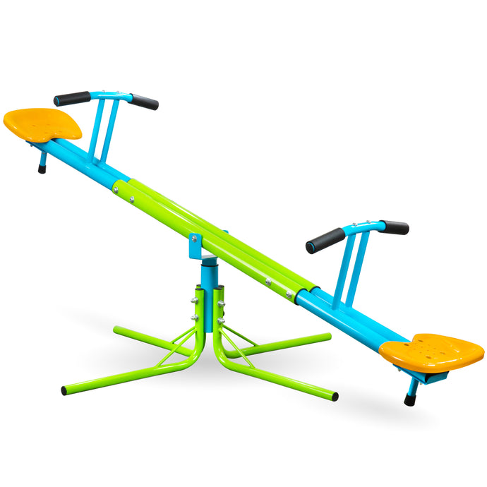 Pure Fun Heavy Duty 360 Kids Swivel Seesaw, Indoor or Outdoor - Pure Fun