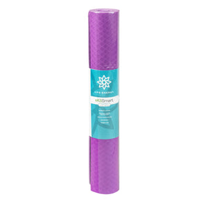 Life Energy 4mm Premium TPE EkoSmart Yoga Mat - Yoga Repeat - Pure Fun