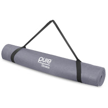 Load image into Gallery viewer, Yoga Mat, 3.5mm, Charcoal Grey - Pure Fun