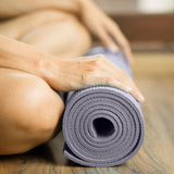 Pure Fitness 3.5mm Yoga Mat - Charcoal Grey - Pure Fun