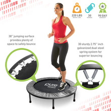 Load image into Gallery viewer, Pure Fitness Exercise Trampoline, 38-inch - Pure Fun