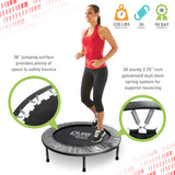 Pure Fitness 38-inch Exercise Trampoline - Pure Fun