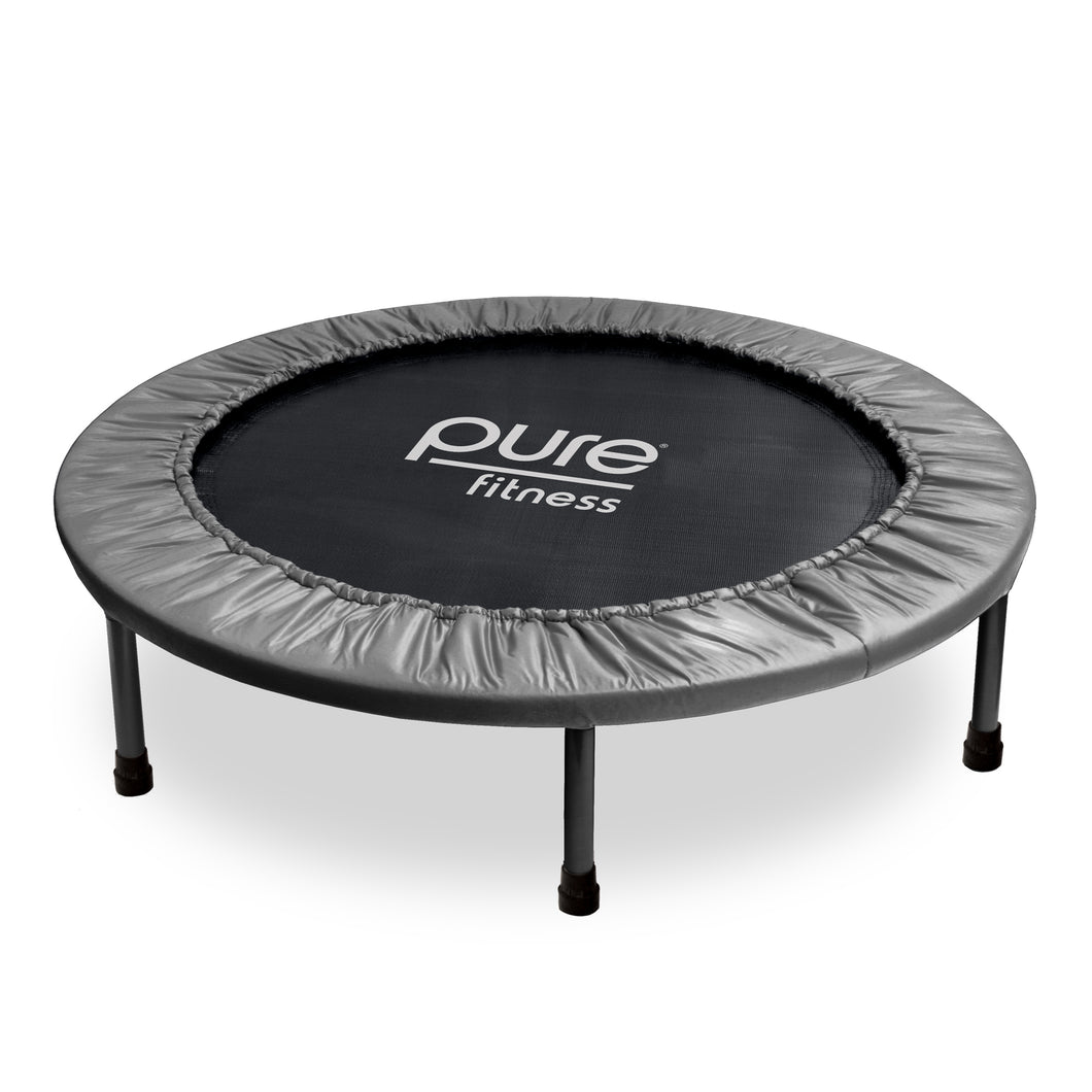 Pure Fitness 38- Inch Exercise Trampoline, Rebounder - Pure Fun