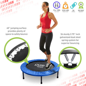 Exercise Trampoline, 40-inch - Pure Fun