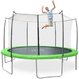Pure Fun Dura-Bounce 14 FT Trampoline with Enclosure - Pure Fun