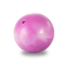 "Load image into Gallery viewer, Pure Fitness 4.5"" Diameter Hand Held 2lb Weighted Pilates Ball - Pure Fun"